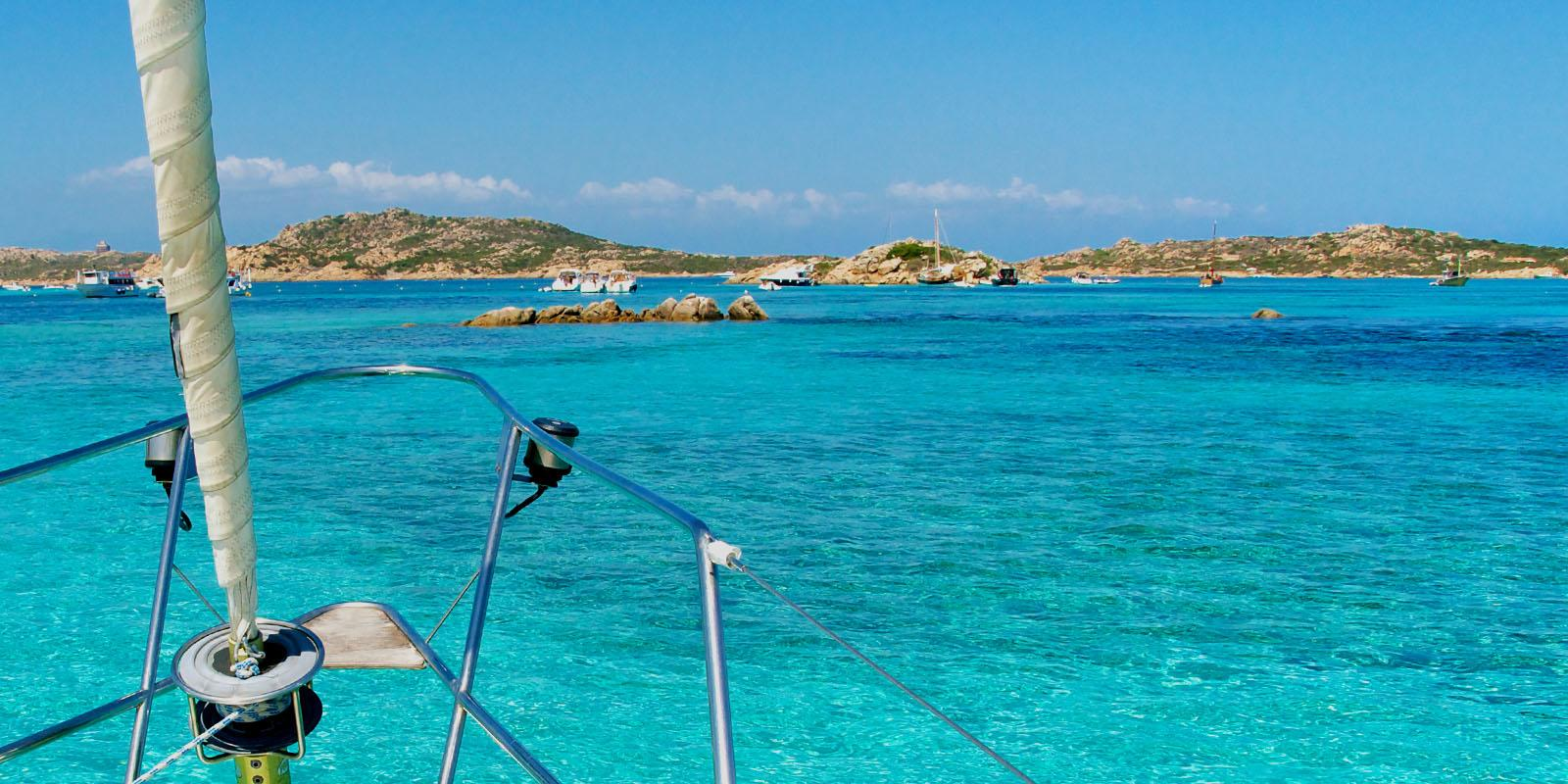 The Cyclades on a magnificent 15-meter boat