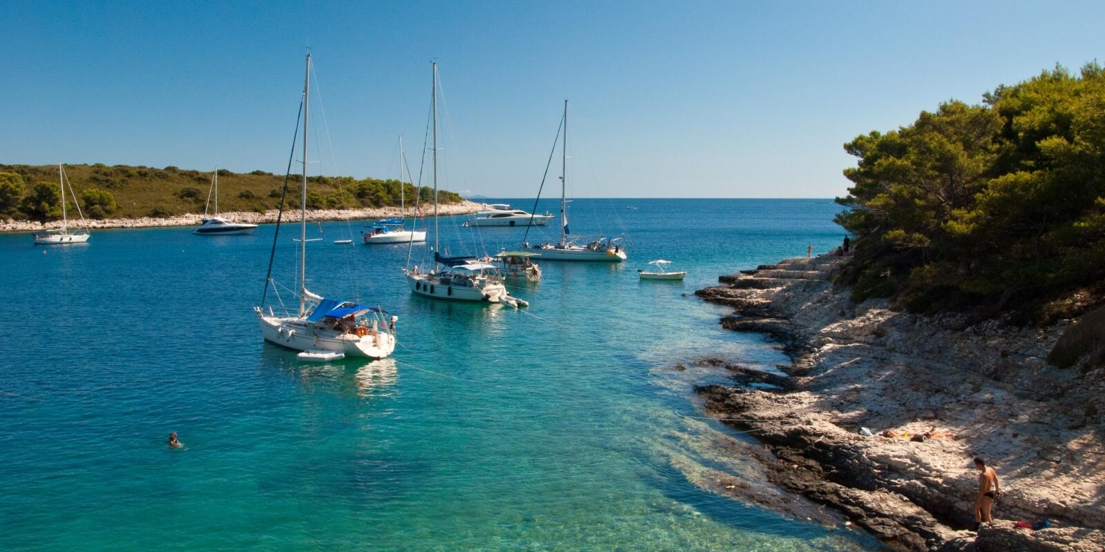 The most beautiful islands in southern Croatia: a dream trip for sailing lovers