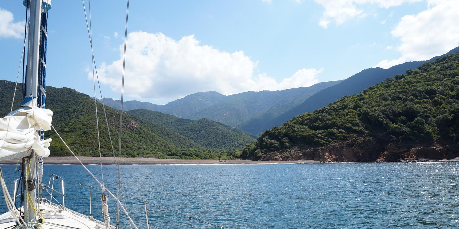 Sailing course, Relaxation and learning in Corsica!