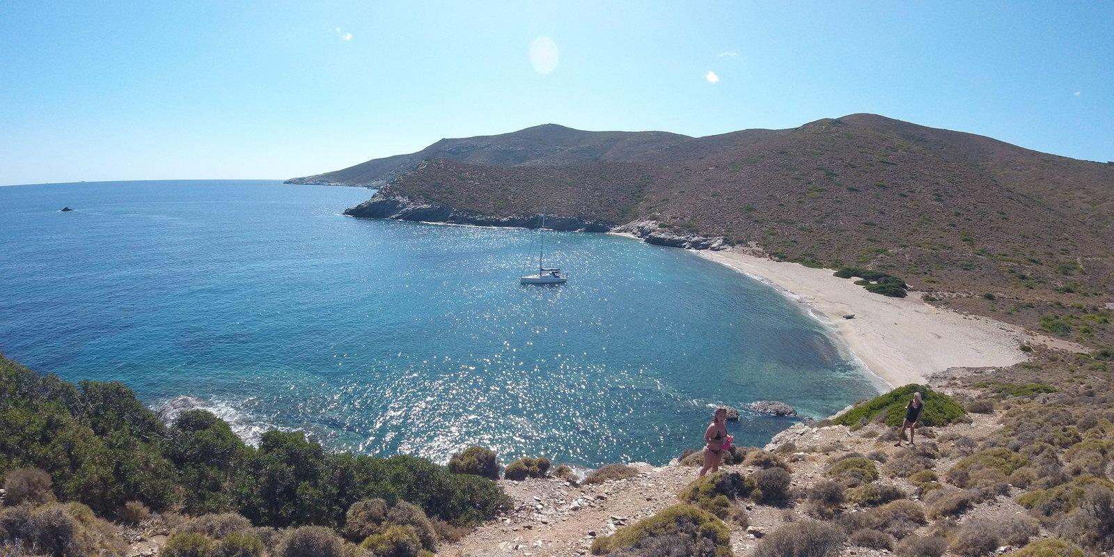 Sailing in the North Cyclades from Lavrio (Athens)
