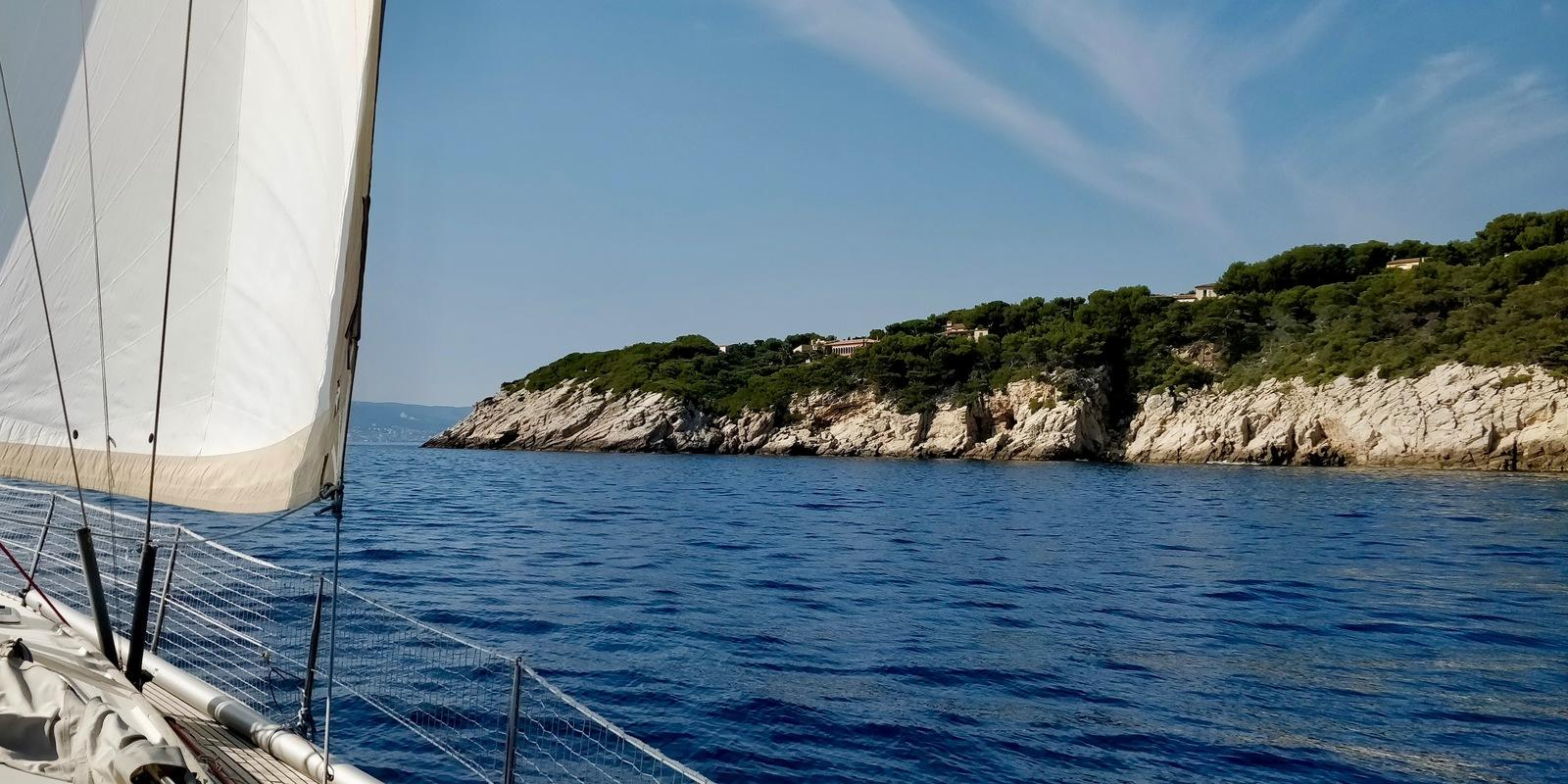 Weekend sailing course from Bandol