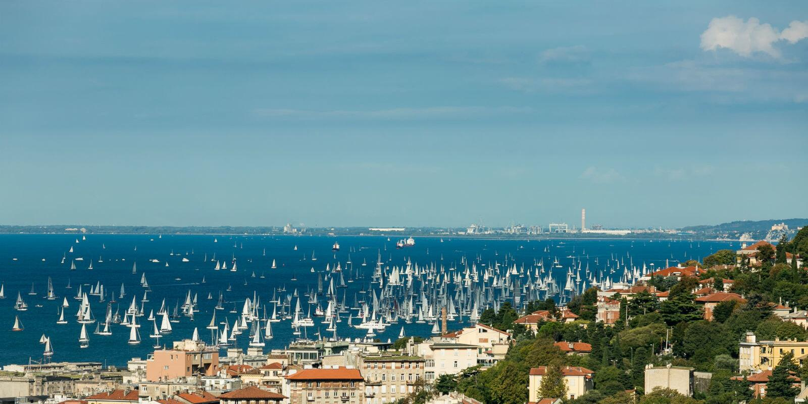 Experience the Barcolana and discover Trieste