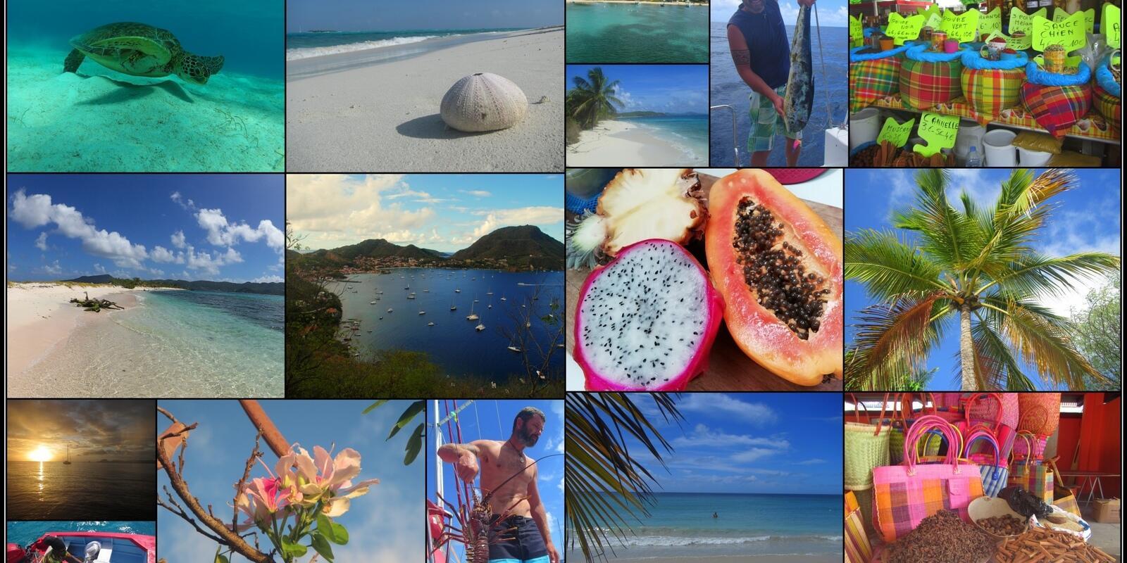 La Guadeloupe et ces îles