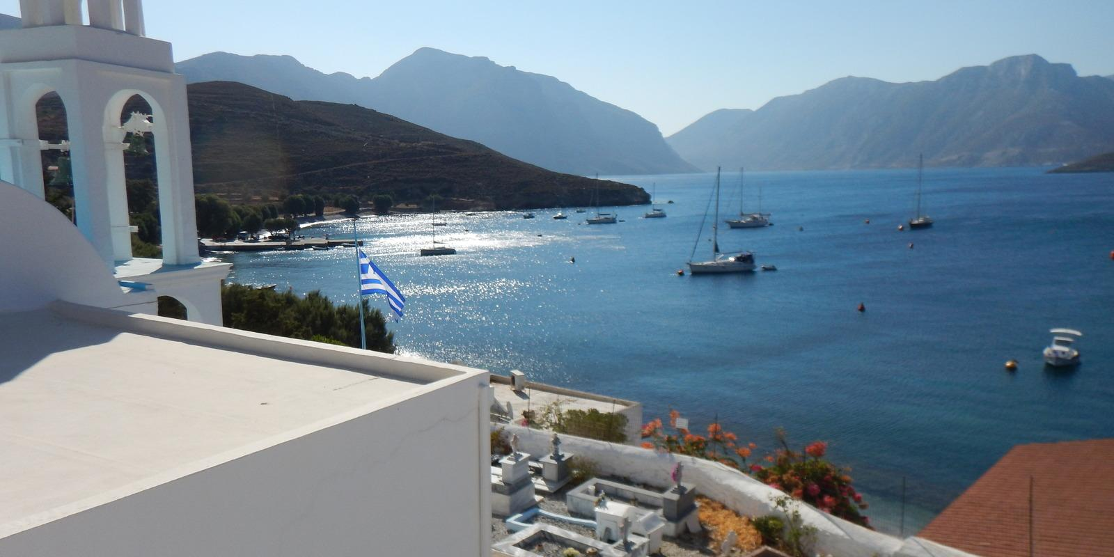 Kos - Kalimnos - Lipsi - Patmos - Leros. Dream week between sailing, sea and (if desired) free c