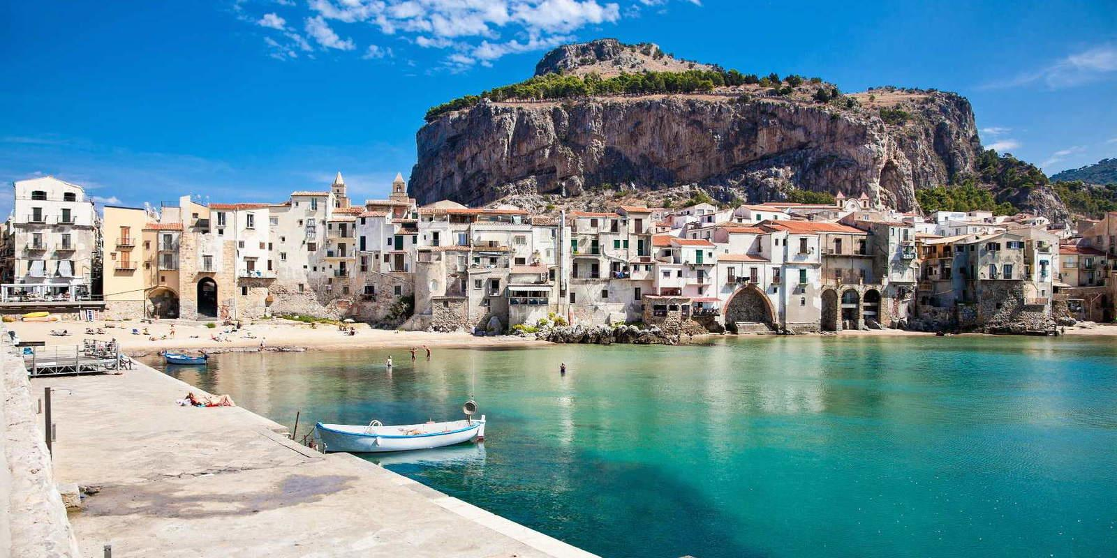 Magical Aeolian and romantic Sicily - From Tropea to Palermo