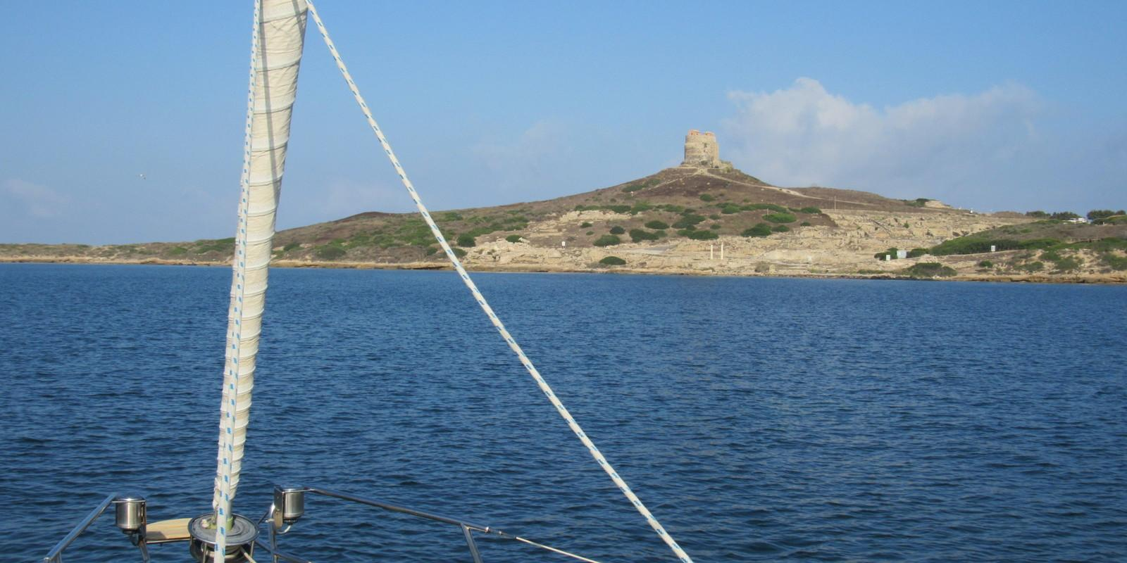 The West Coast of Sardinia sailing with skipper and hostess on board