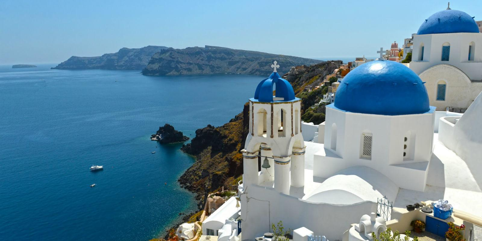 Cyclades 1 - From Athens to Santorini