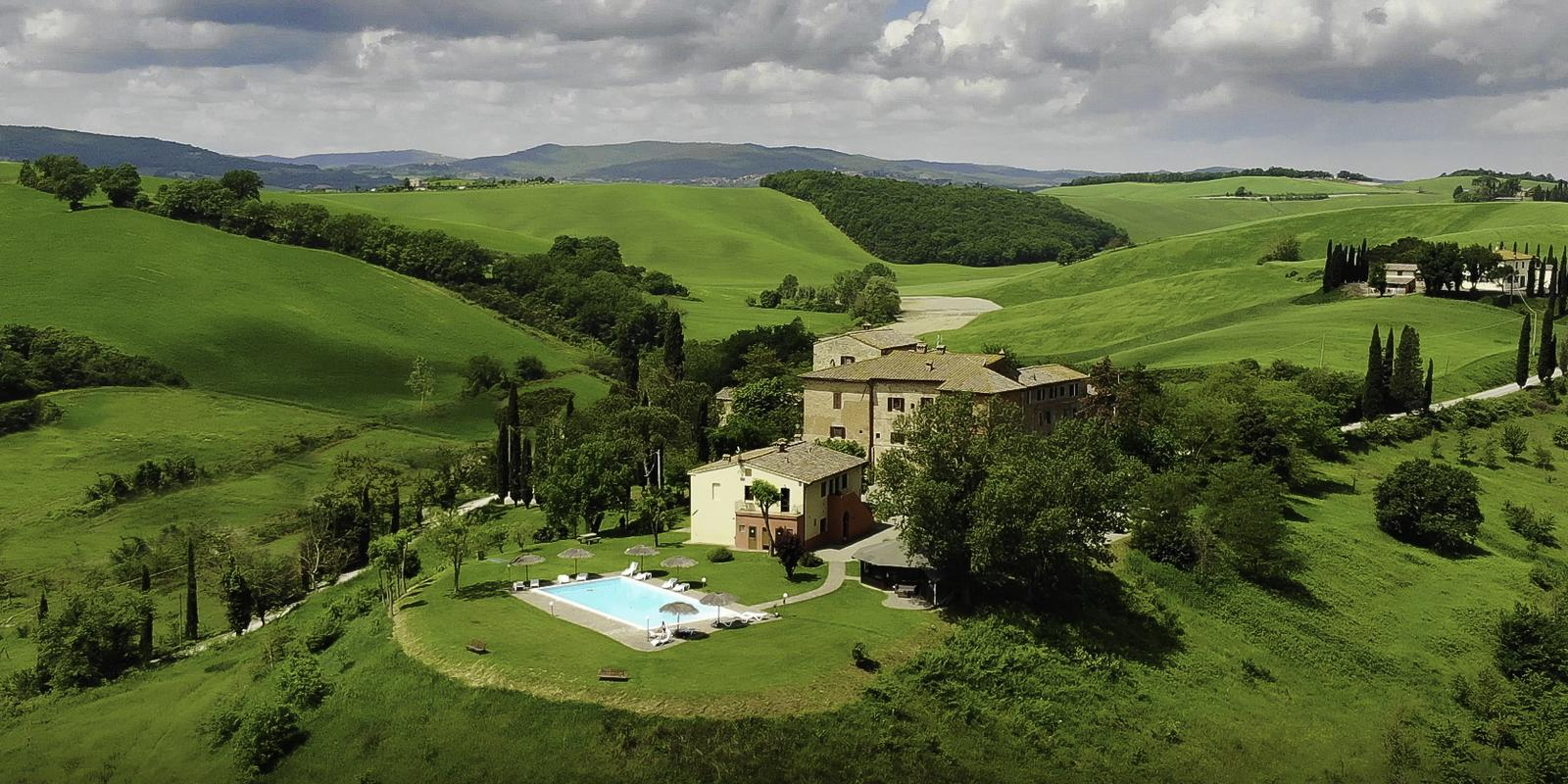 Weekend with Crime in a castle in Tuscany - all inclusive