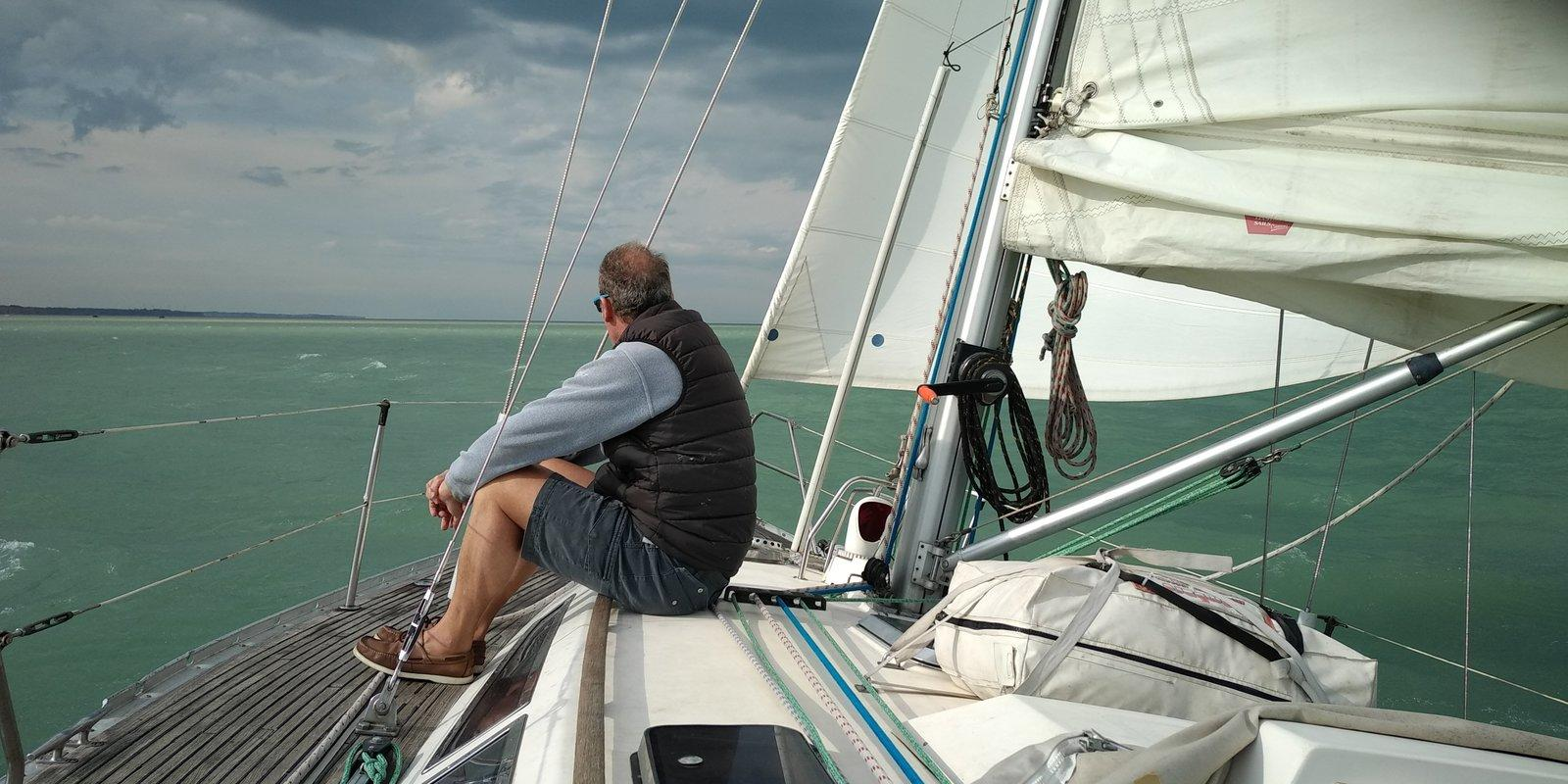 Eastbourne - Brighton by sail boat