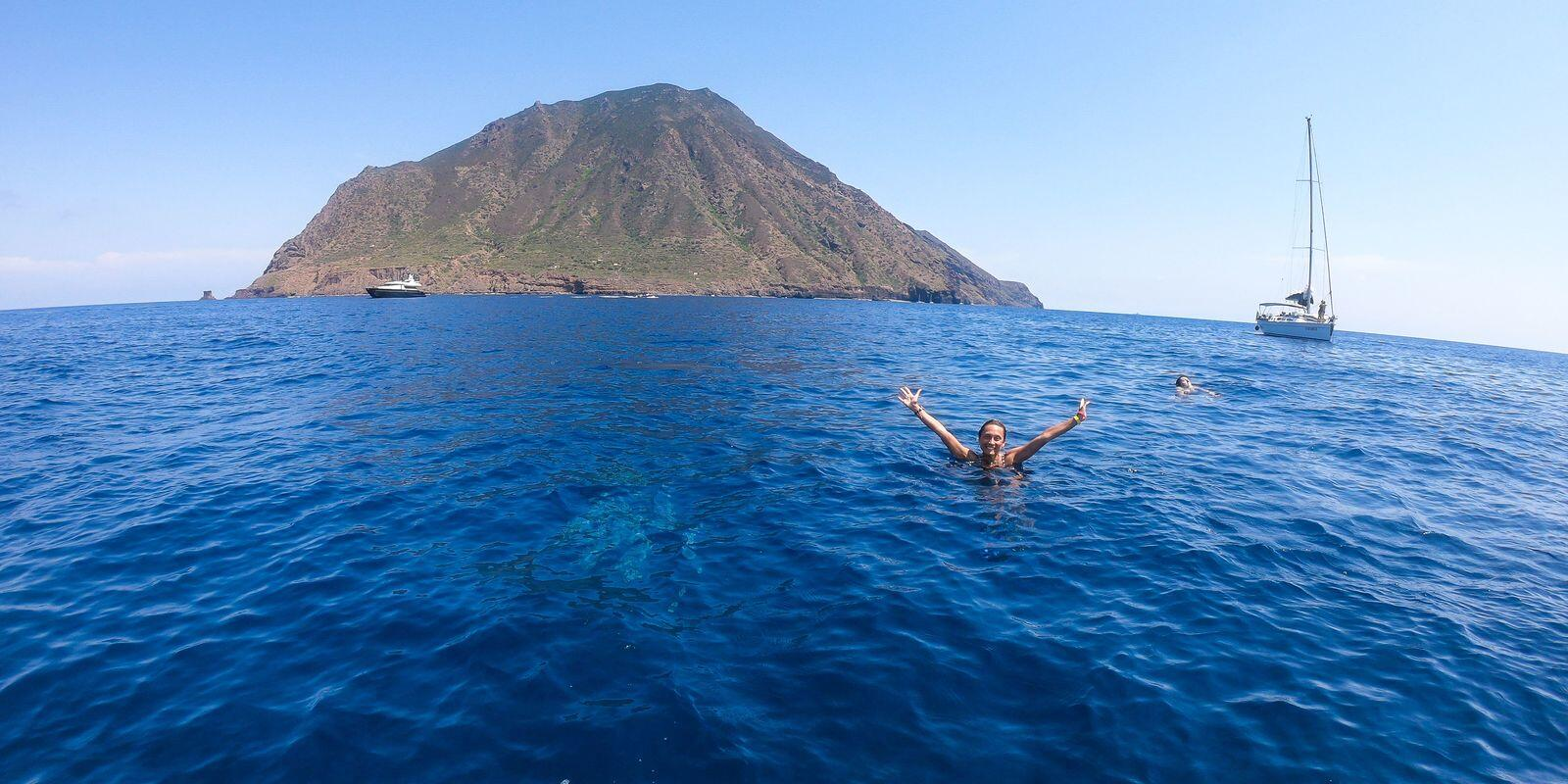 Aeolian archipelago, a paradise to see and experience, on a sailing boat