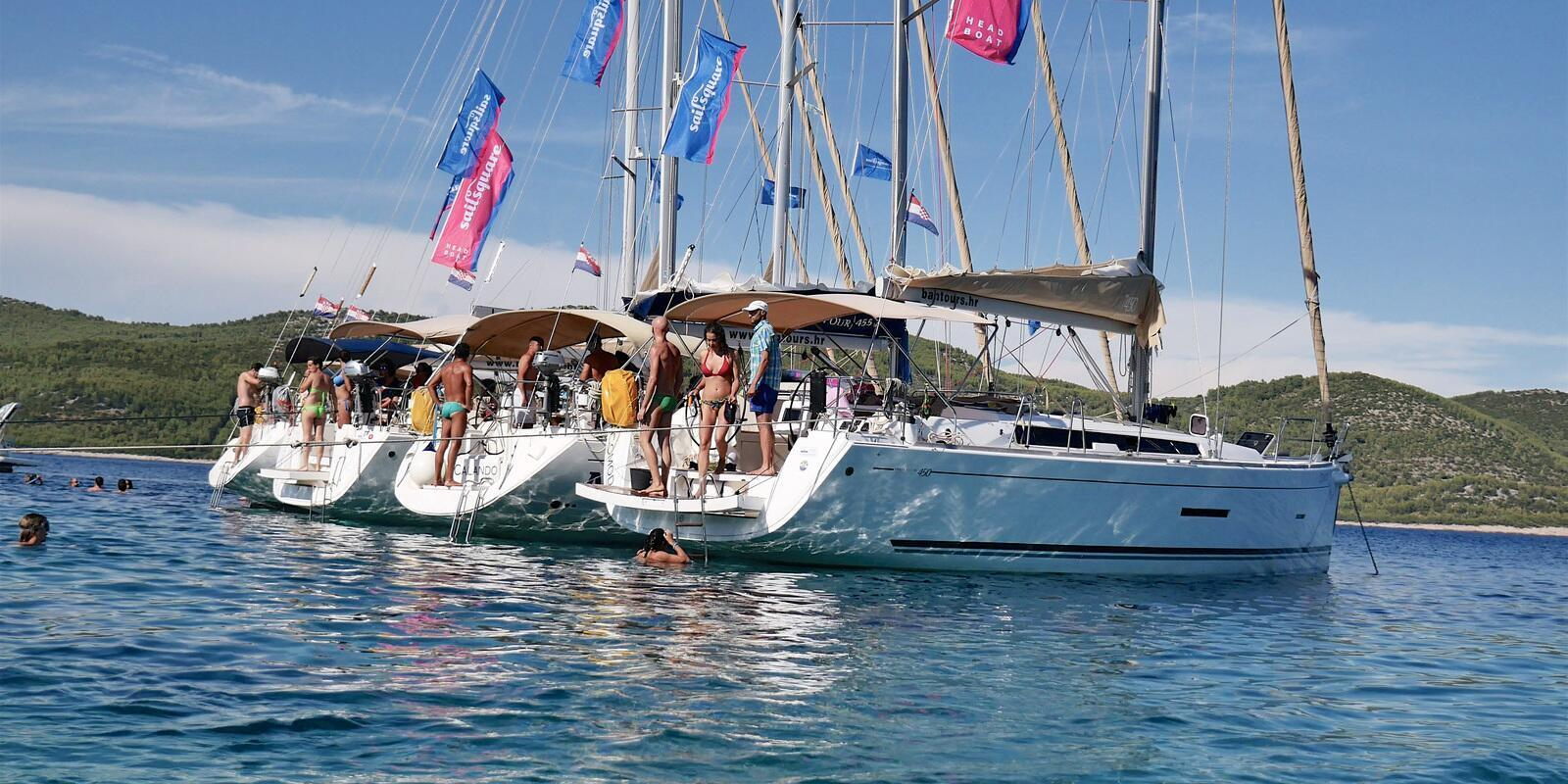 Flotilla on the routes of Ulysses in Ionian Greece - 1st week