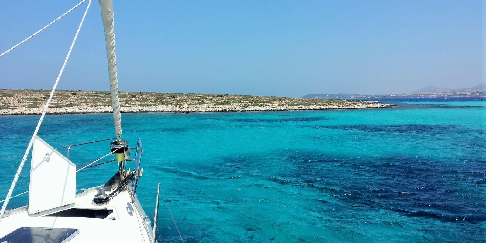 A sailing cruise in the big blue of the Dodecanese