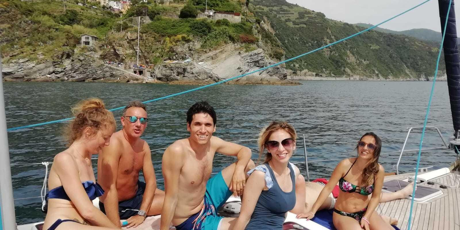 Sailing in Portovenere and Golfo dei Poeti!