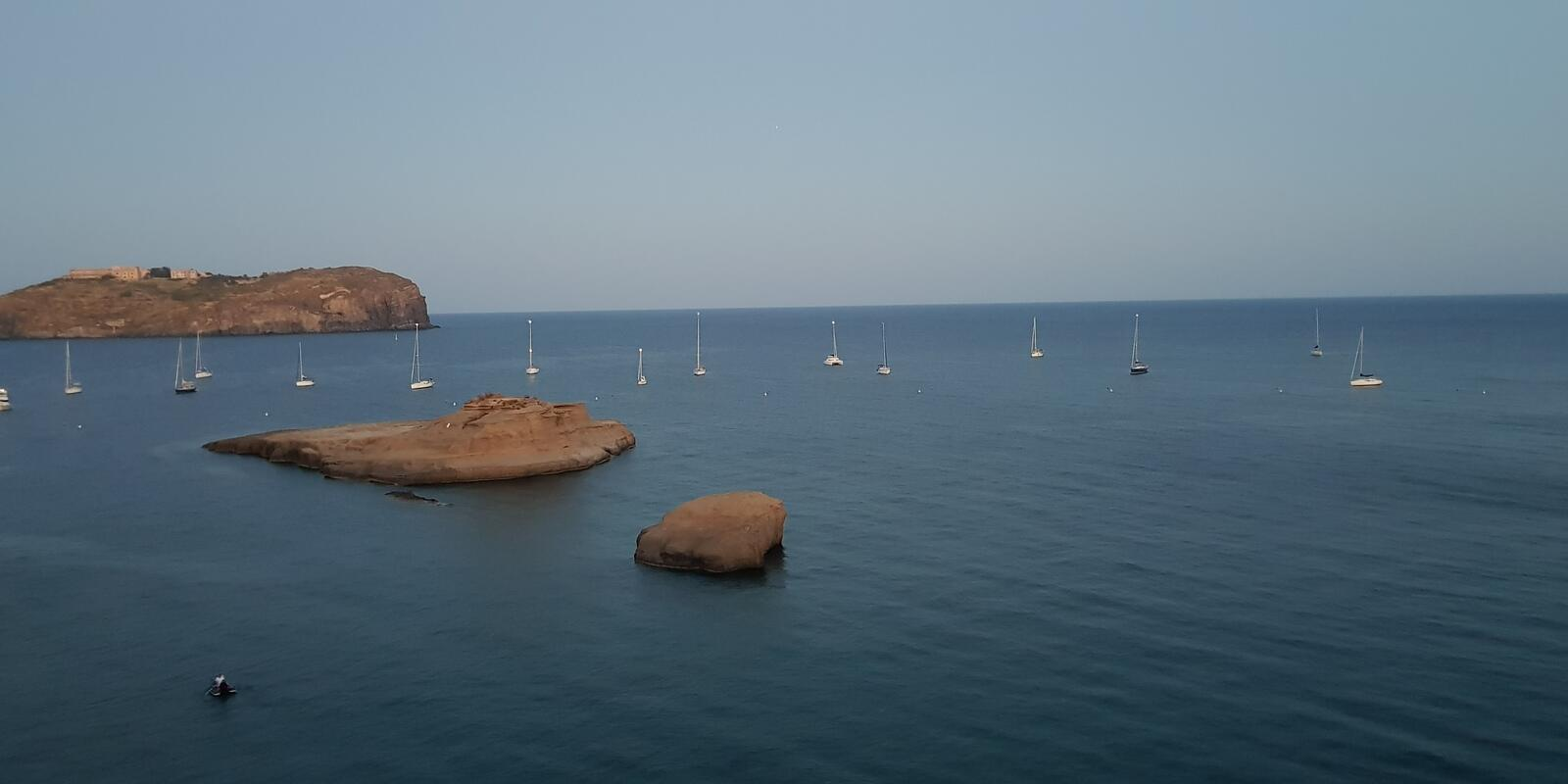 Week of relaxation and navigation to the Pontine islands