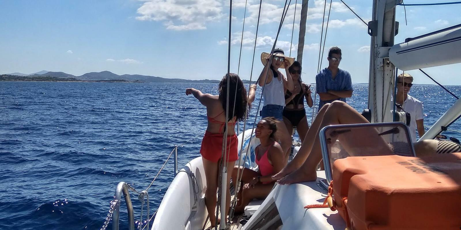 Come and sea! A great sailing trip to Greek islands! The land of the Gods!
