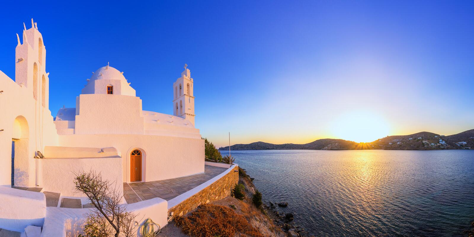 Greek paradise in Cyclades