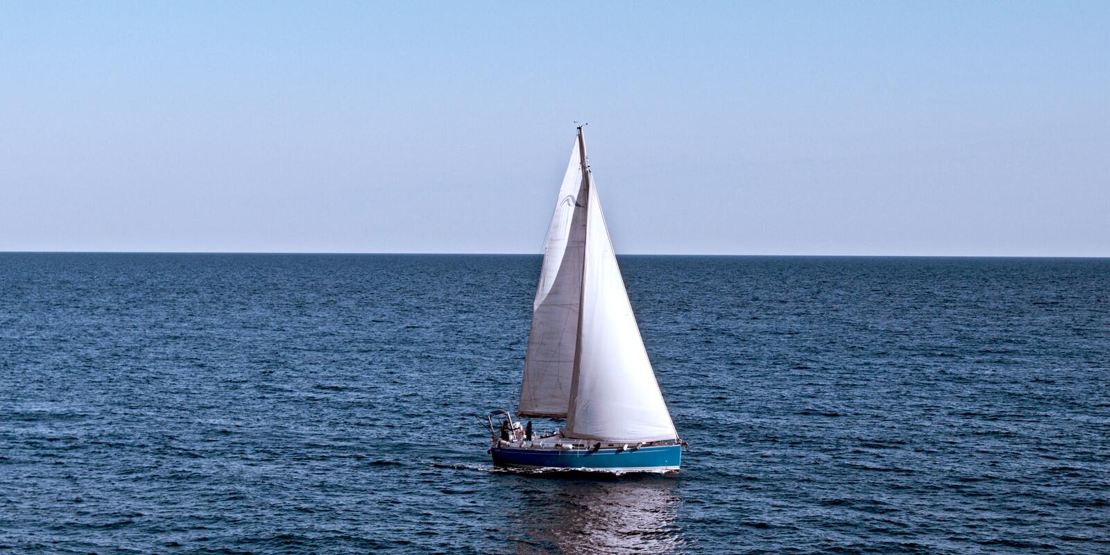 April 25 - learn to sail on a sailing boat between Ibiza and Formentera