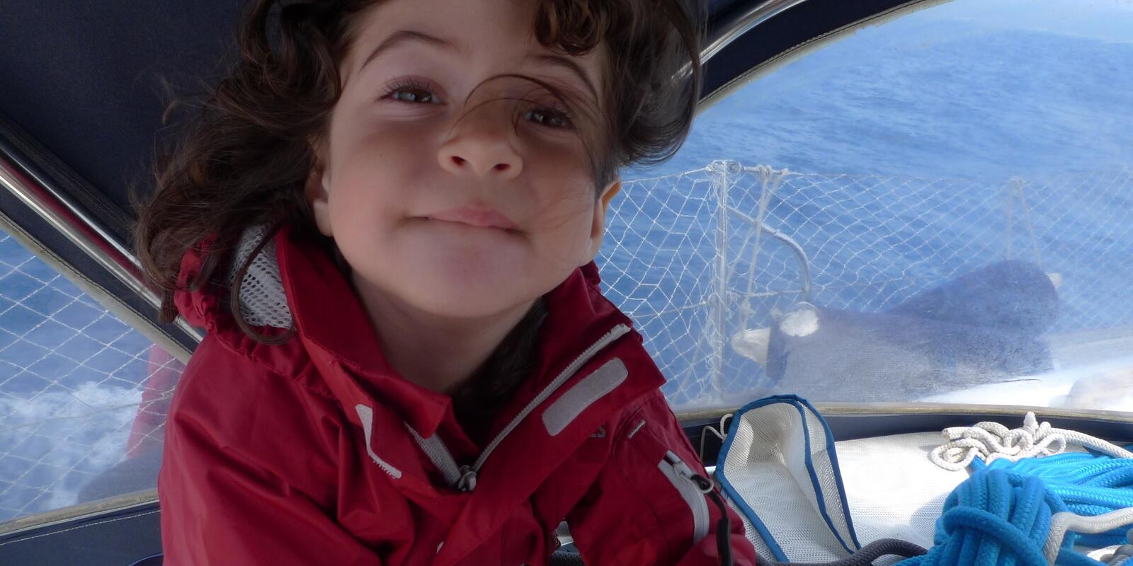 Sailing weekend with children
