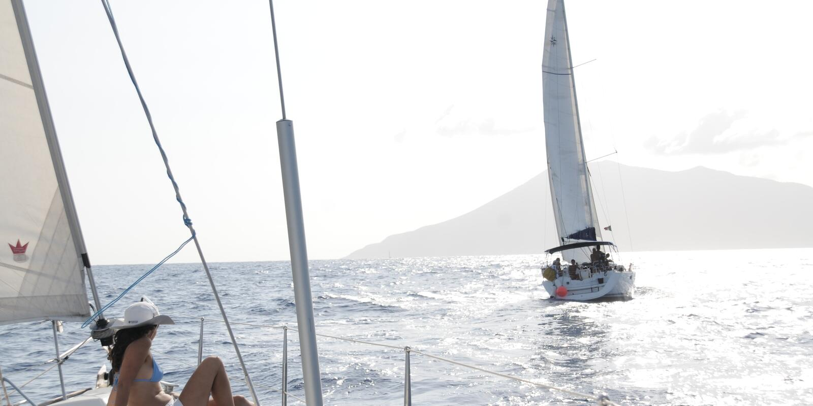 Sailing holiday to the Aeolian Islands in mini Flotilla: Sea, Sailing, Relaxation and Fun