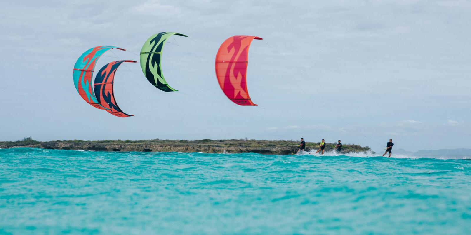 10 days of kitesurf and adventure in the Grenadines