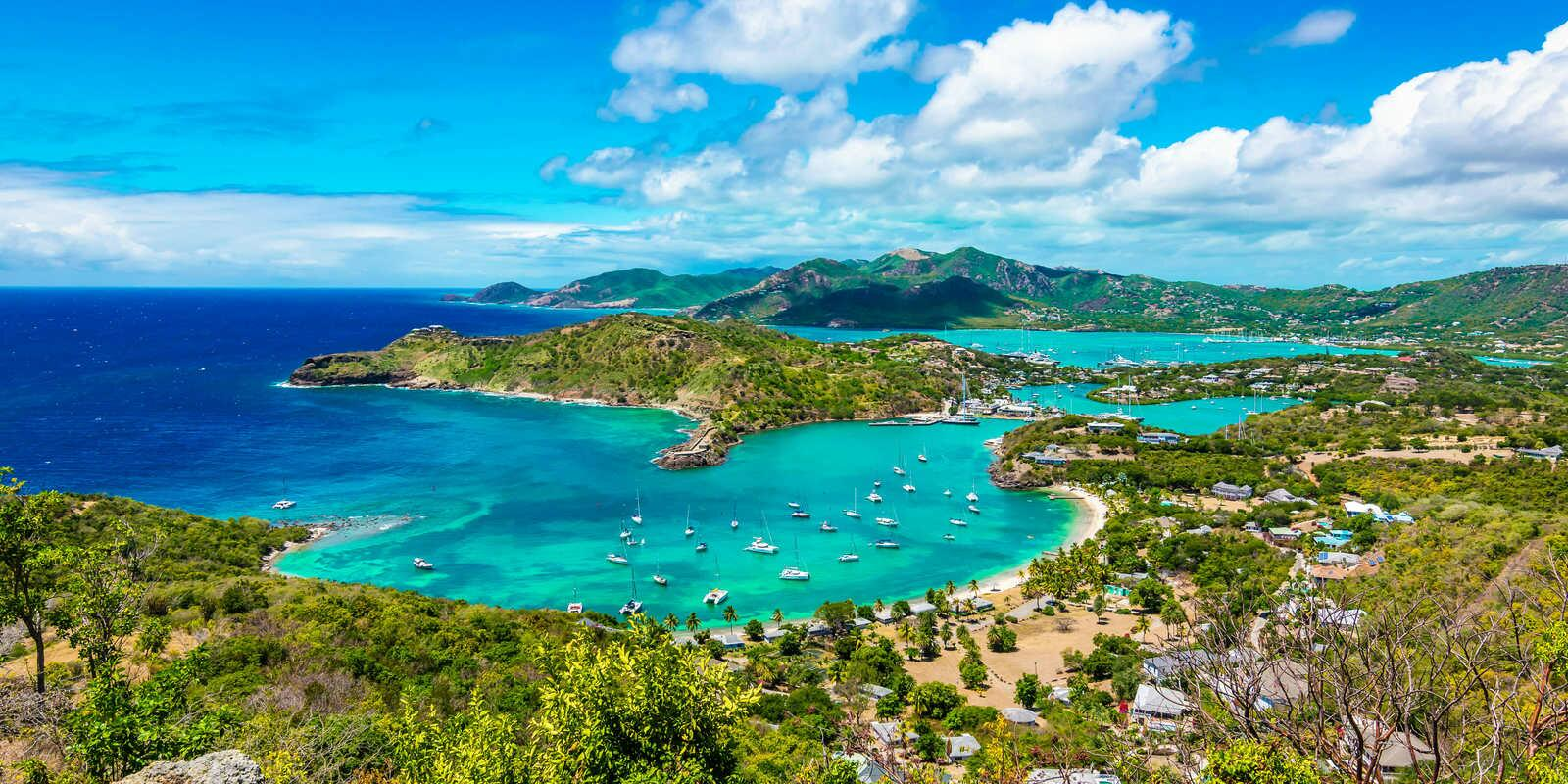 8 days to discover Antigua, Barbuda and Saintes Islands
