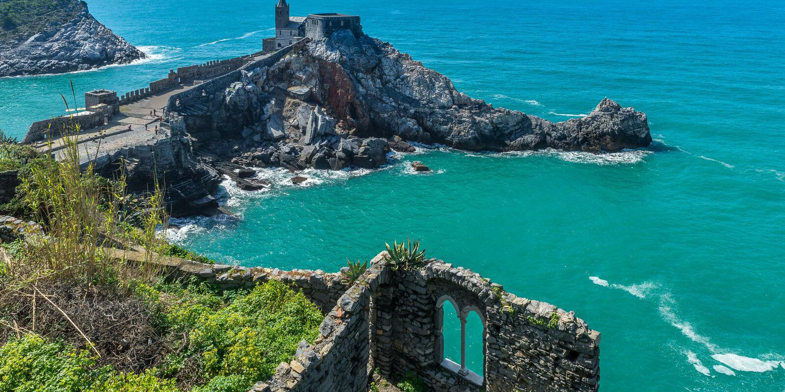 Week end in the Gulf of Poets Portovenere and 5 lands