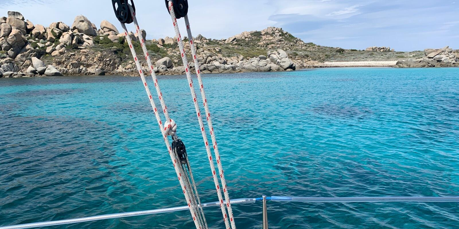 Sailing in South Corsica/North Sardinia