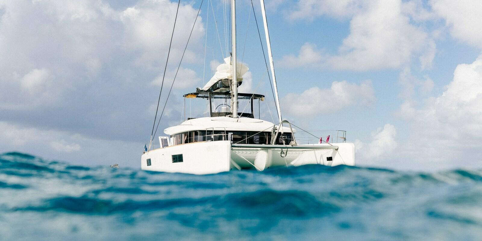 LUXURY cruising in the catamaran through the southern Caribbean - all inclusive