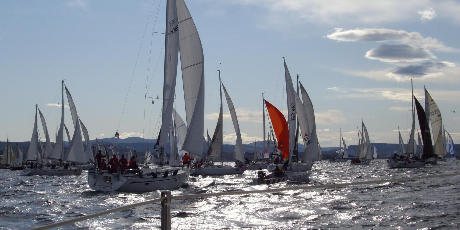The Barcolana of Trieste, an emotion not to be missed .. !!