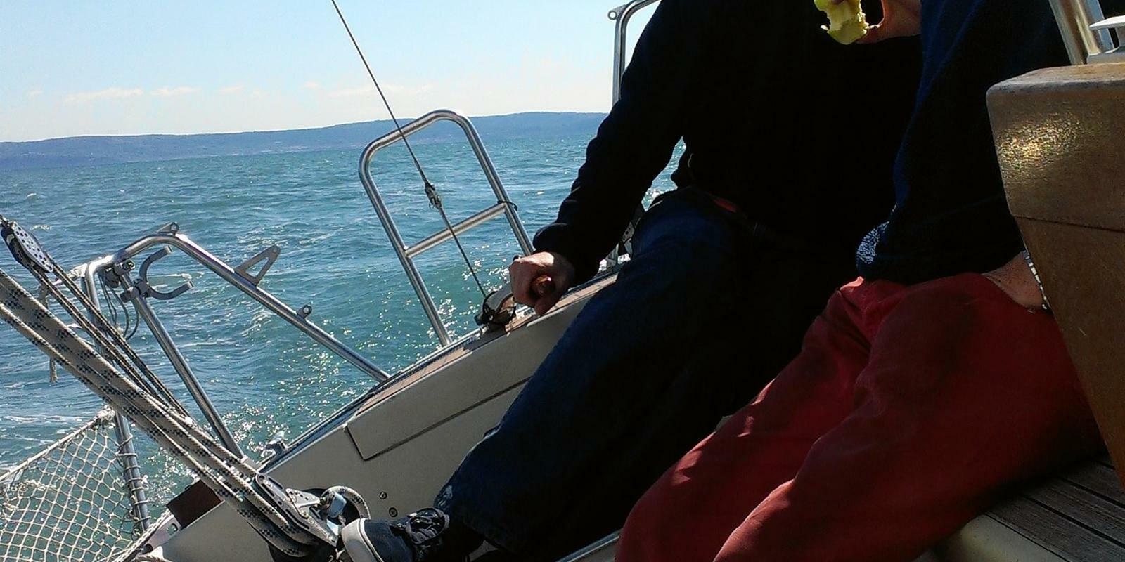 Participation in a club regatta in the extraordinary Gulf of Trieste!