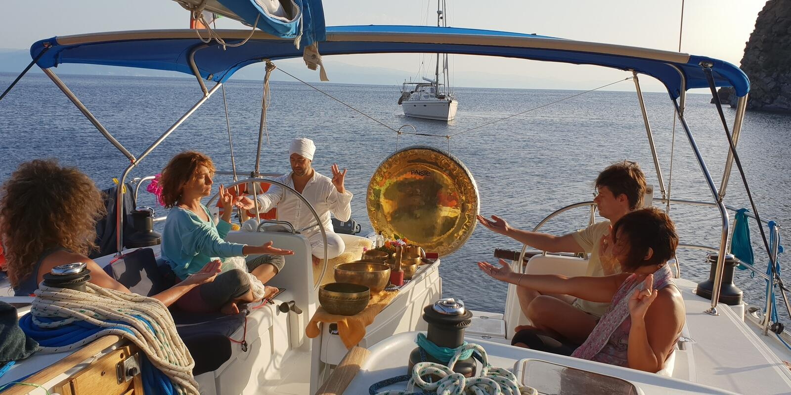 Holistic Sail Magic Aeolian - Sailing, Yoga and Gong for a Week of Relaxation and Energy