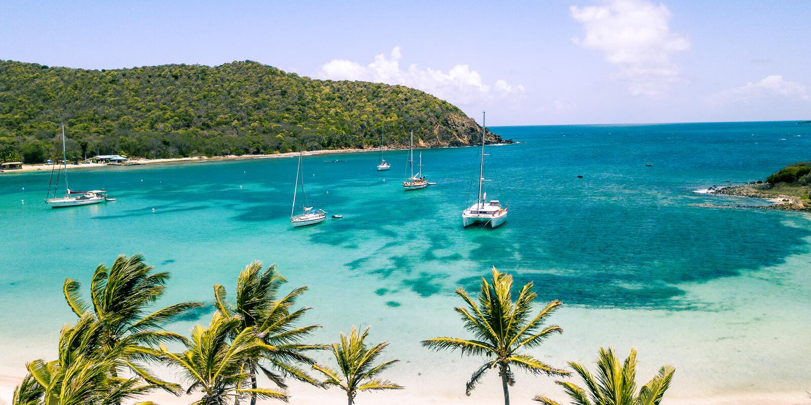 Caribbean and Martinique, sailing with a private skipper ... what a splendor!