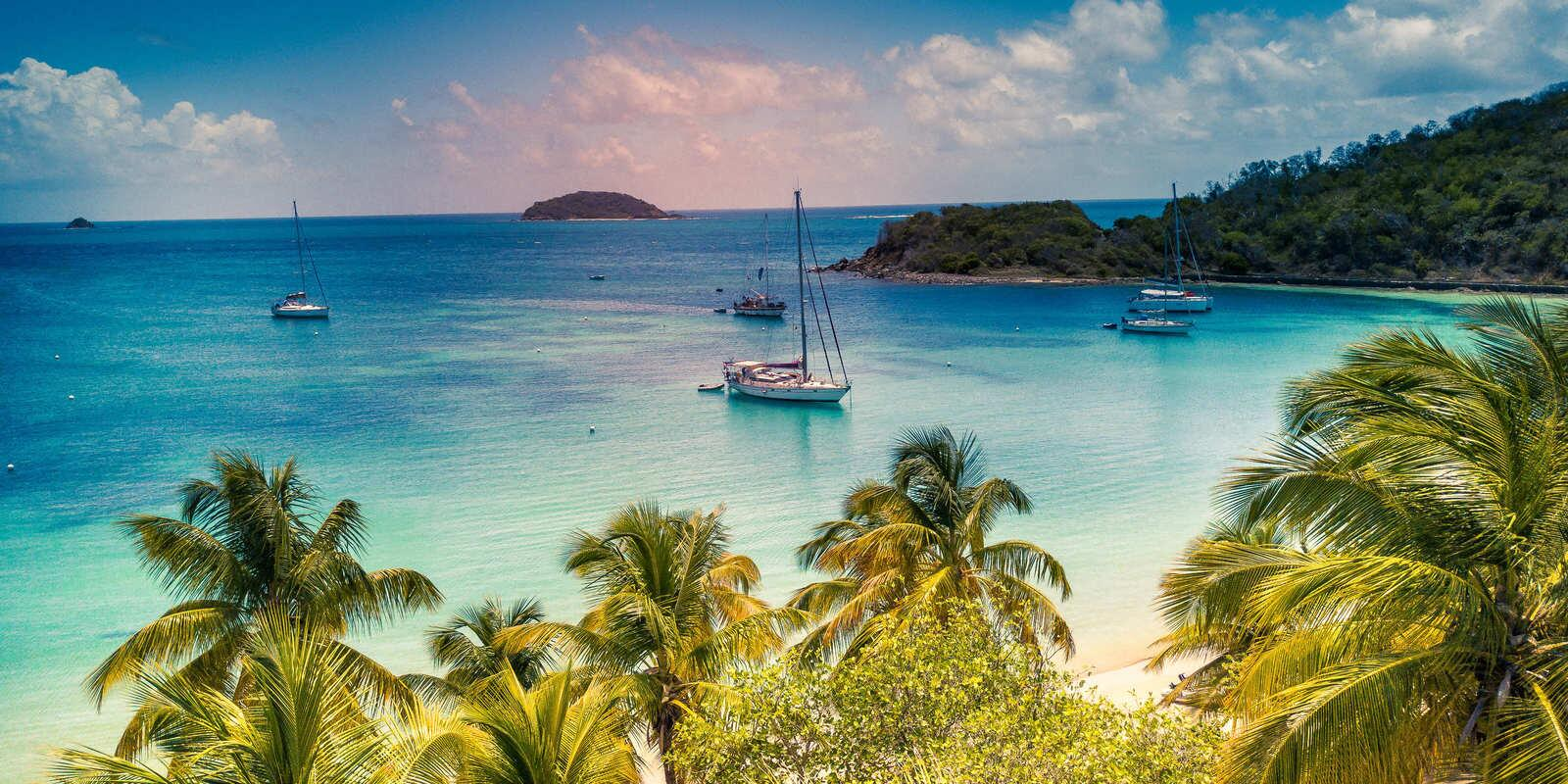 Caribbean- Sailing in the Grenadines- Tobago to St. Vincent