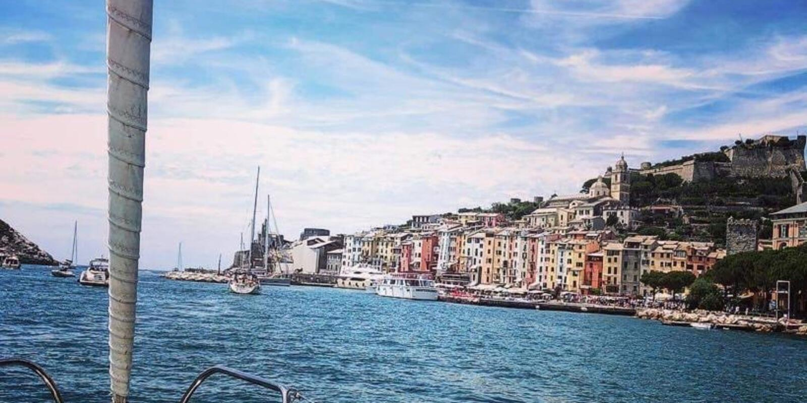 Easter sailing for the Ligurian Riviera