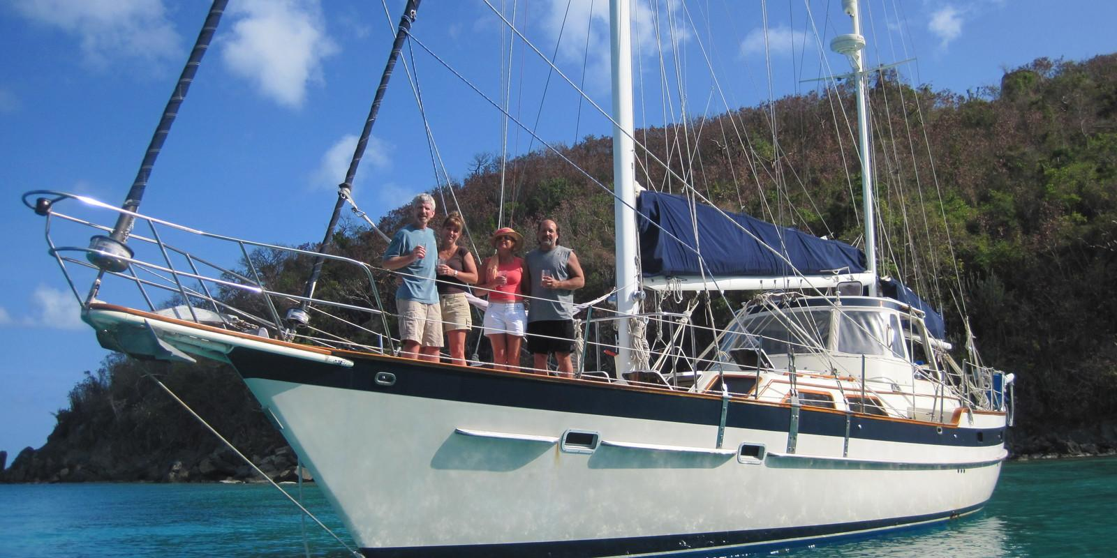 Christmas Sailing in the Virgin Islands - Food and Drink included.