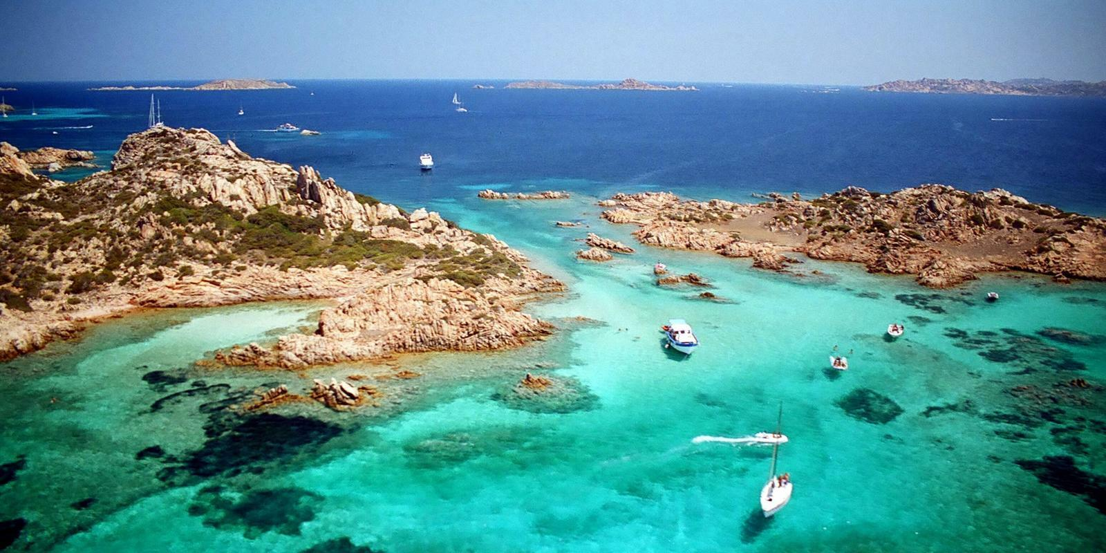 August in the paradise of La Maddalena and southern Corsica
