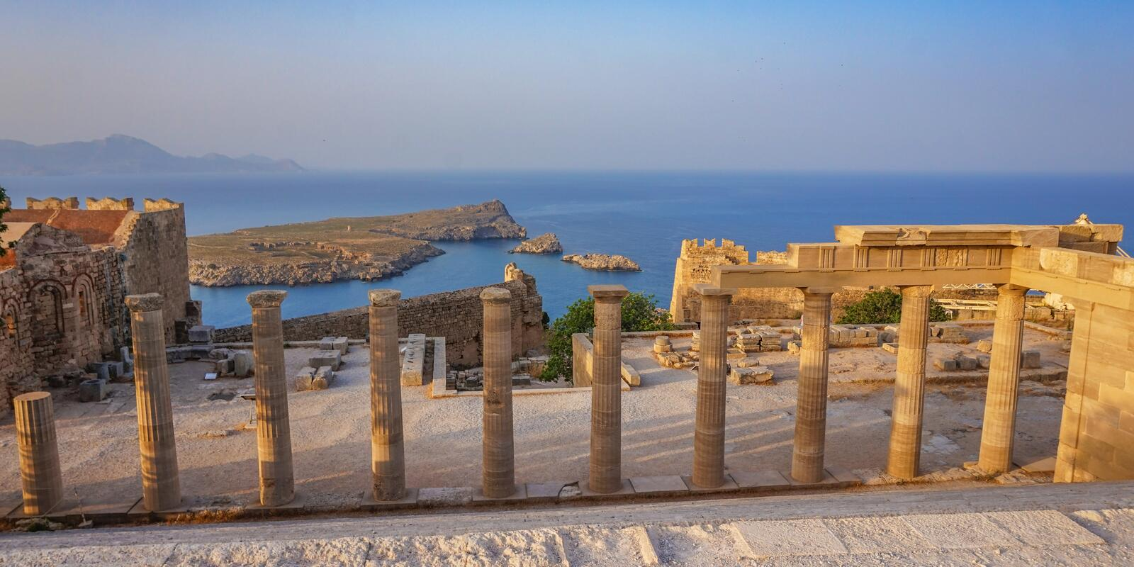 Rhodes and Symi, magical islands: sea, patterns of colors, jewels of the past