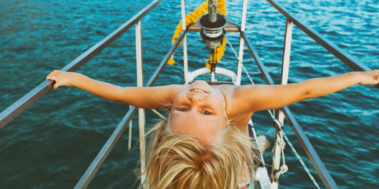 holiday with the CHILDREN in a 17-meter boat!