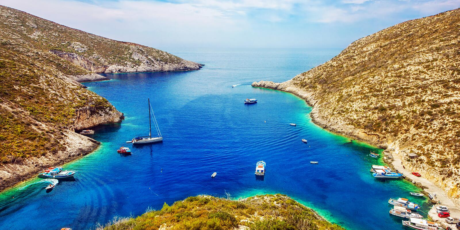 7 islands in 7 days sailing between the Ionian islands - Hostess on board