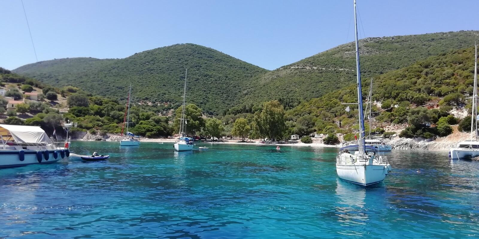 Few but good !!! Ithaca and Kefalonia on a sailing boat: QUALITY vacation!