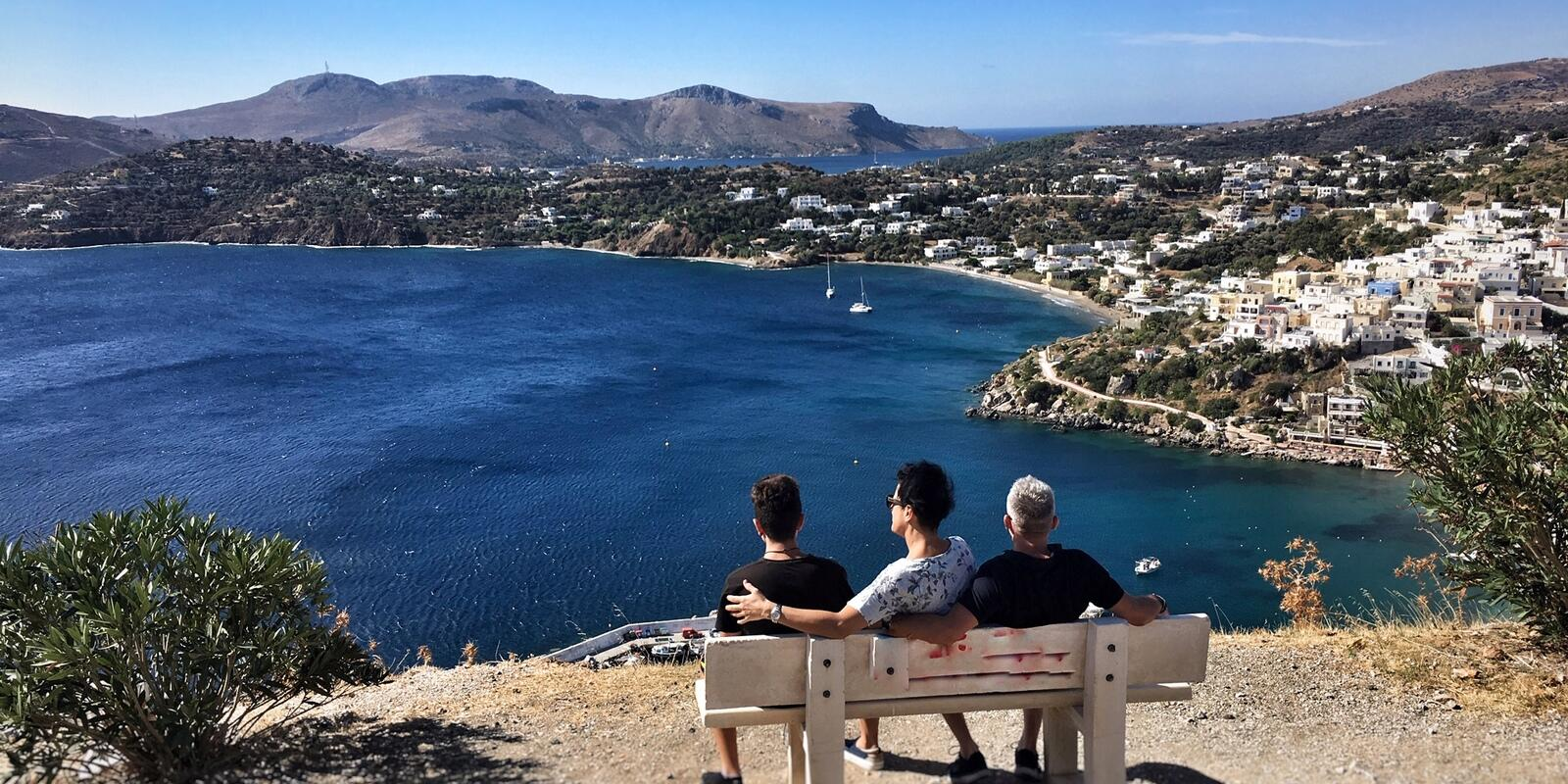 A peaceful holiday, the Dodecanese islands