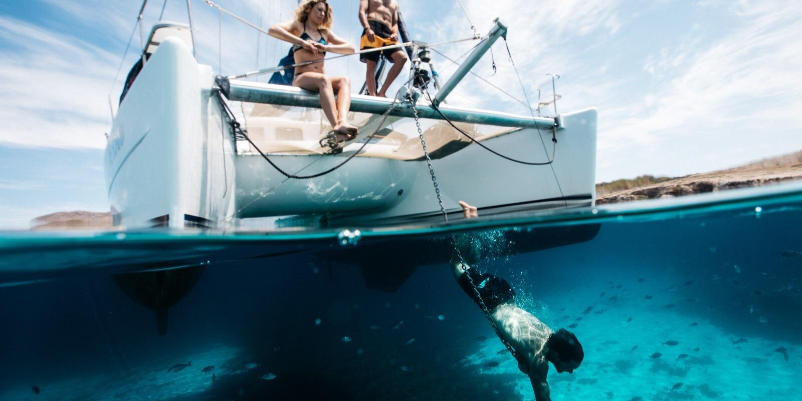 A week in the Aeolian islands by catamaran in the name of relaxation, sea and sun