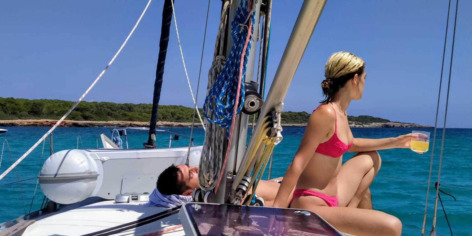 Sailing & Relax in crystal clear waters.   Mallorca - Menorca