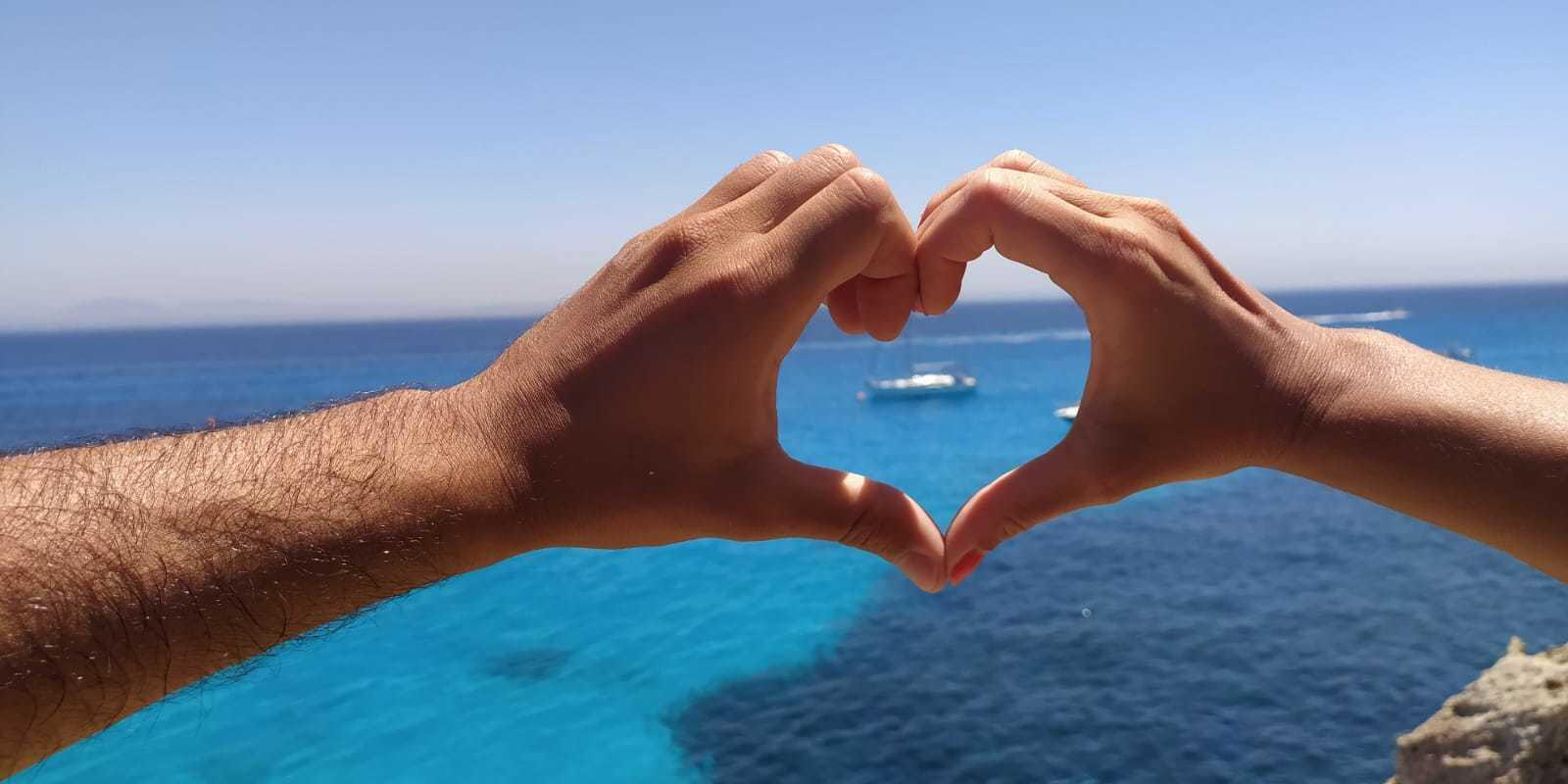 All inclusive cruise to the Egadi islands. Just think about relaxing ... we'll take care of the rest!