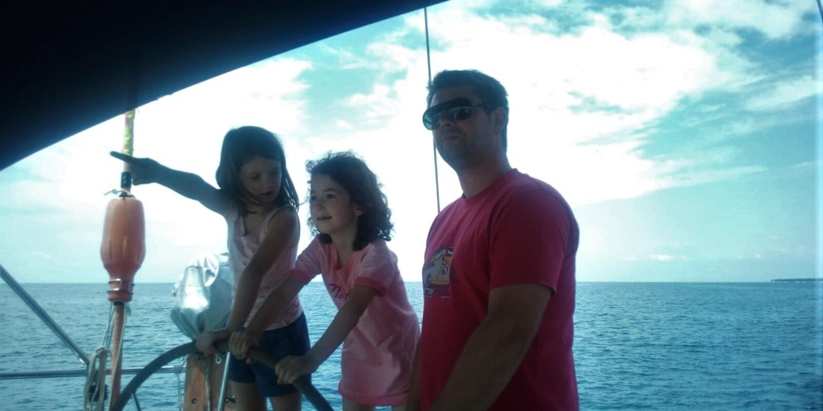 Sailing with the whole family