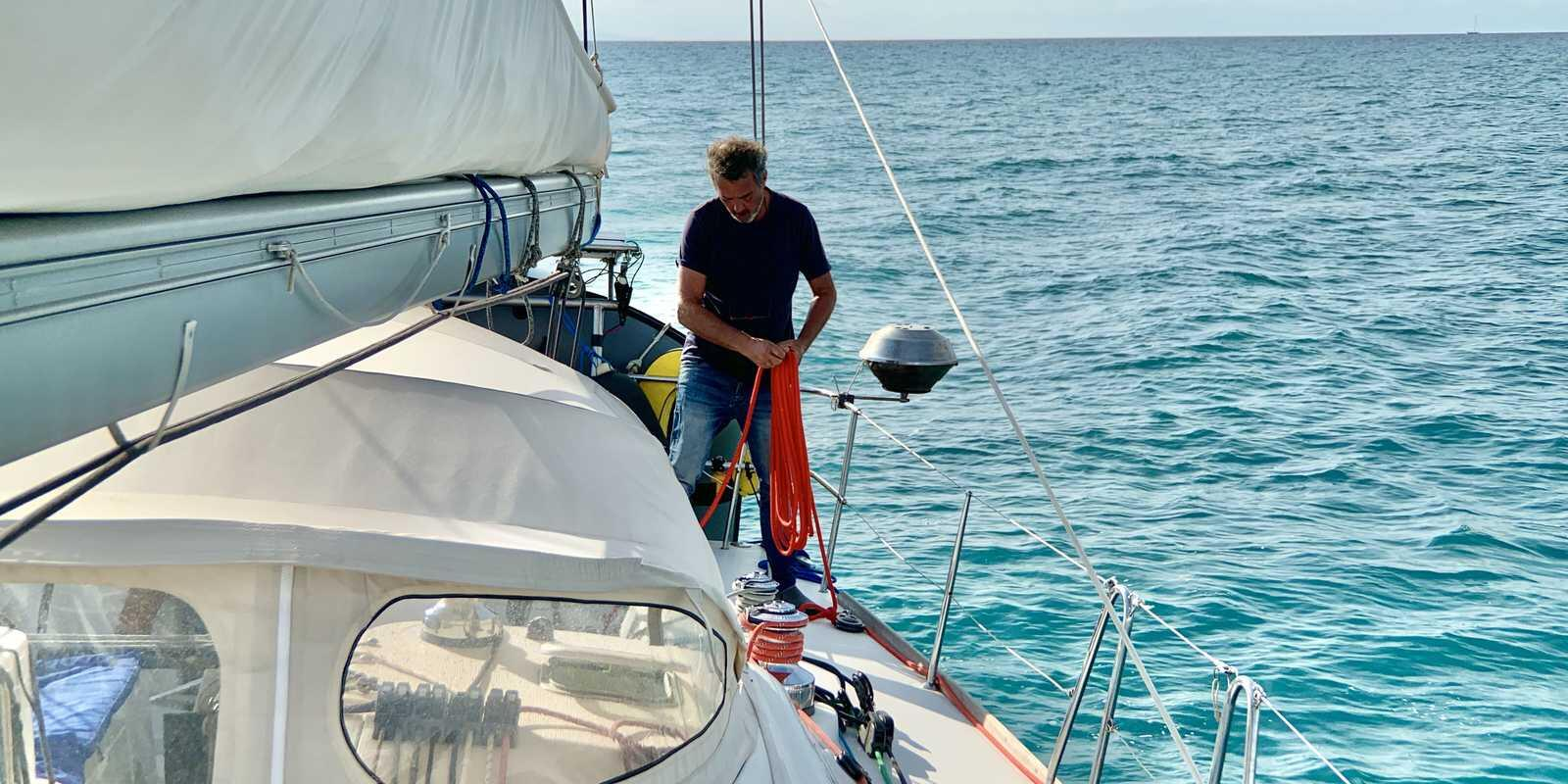 Magical week in a small group on an exceptional 47-foot sailboat