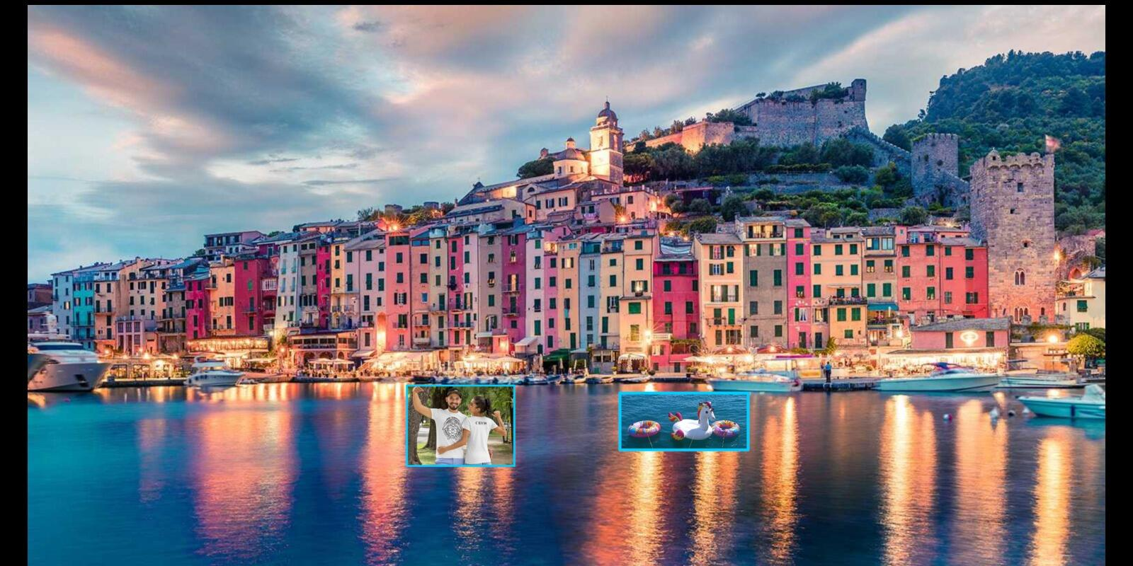 2 DAYS ALL INCLUSIVE - VISIT TO PORTOVENERE AND  GULF OF POETS + CREW T-SHIRT !