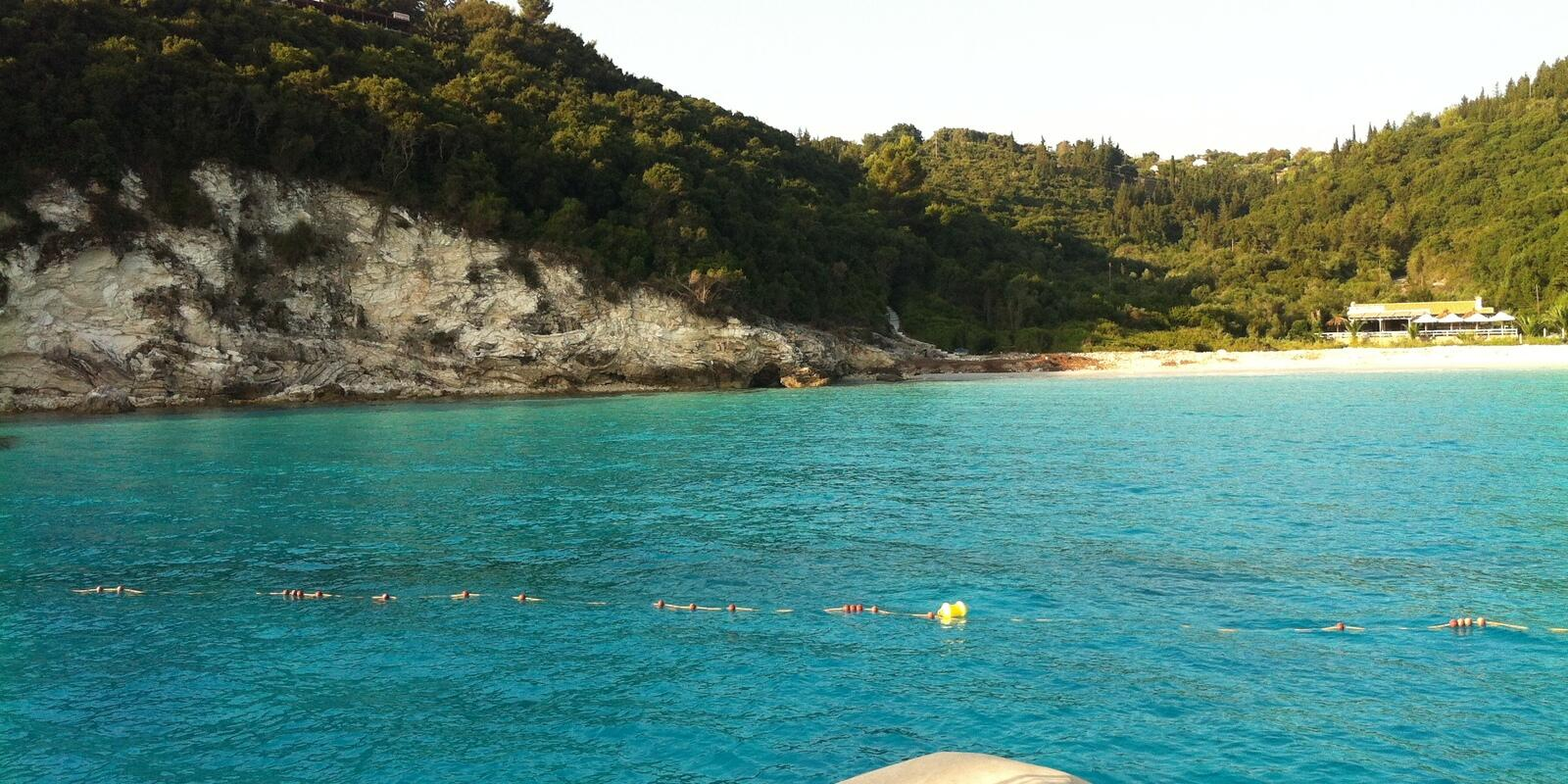 Sailing week In crystal clear waters and surrounded by nature