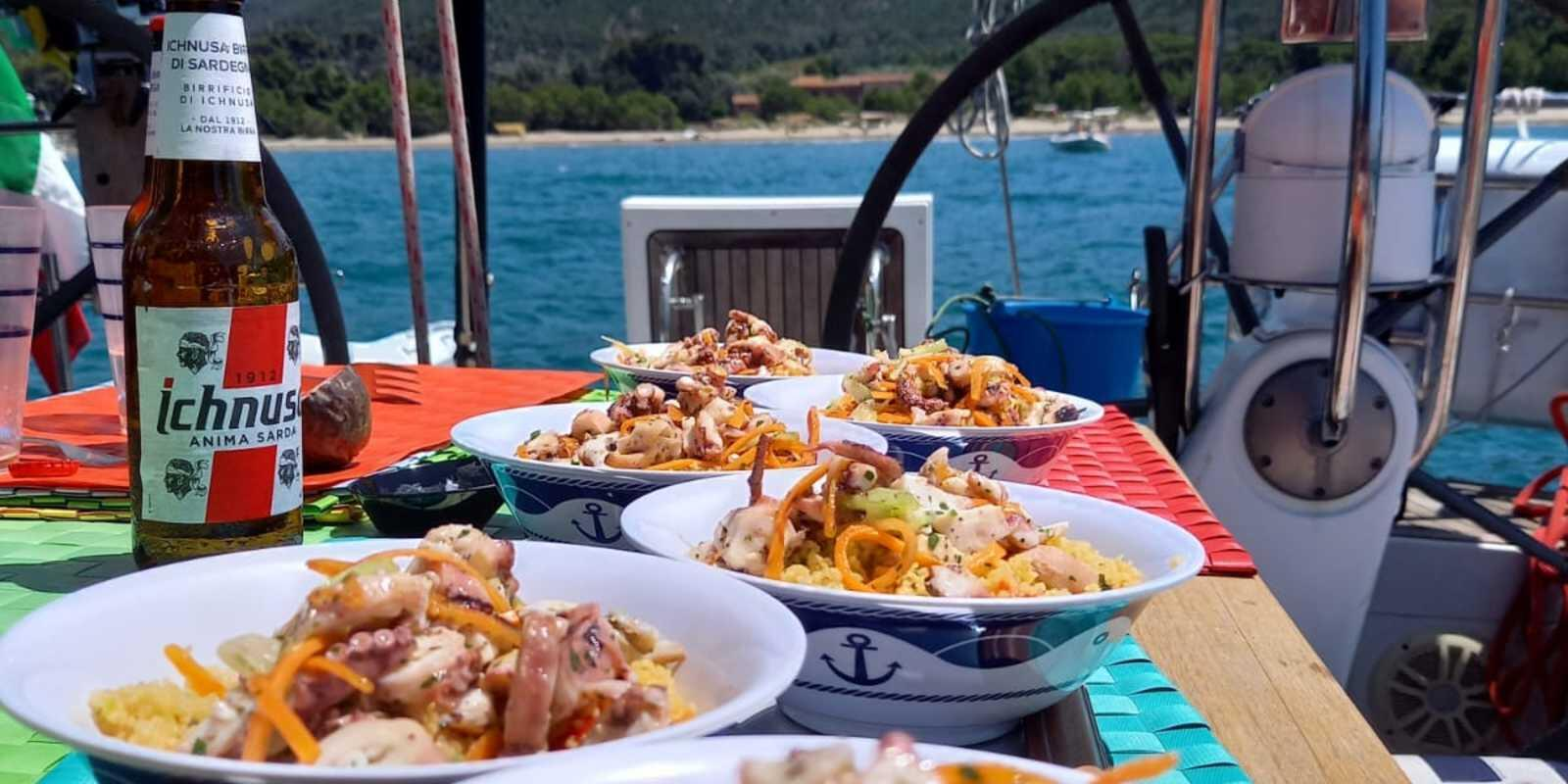 All-Inclusive holiday with Chef on board in the enchanting setting of the Tuscan Archipelago
