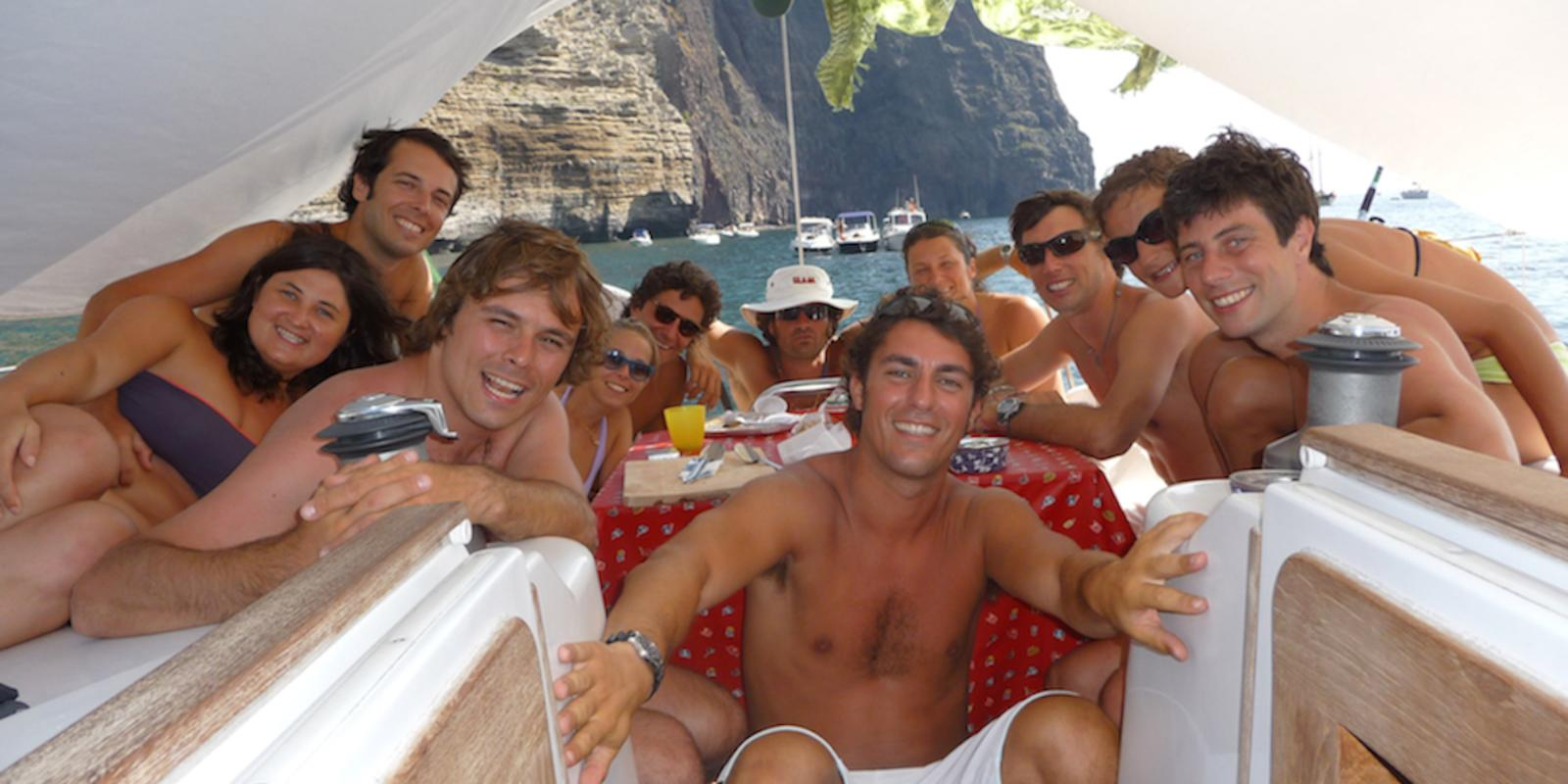 July how much I love you! - In flotilla with Gianluca C. -